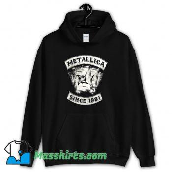 Metallica Rock Since 1981 Hoodie Streetwear