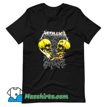 Rock Metallica Sad And True Cute T Shirt Design
