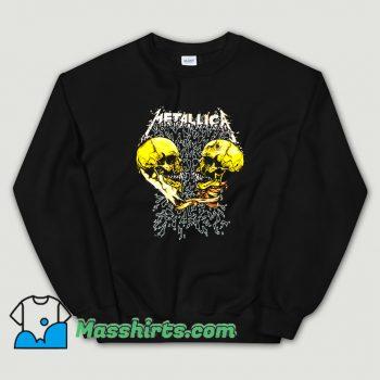 Rock Metallica Sad And True Sweatshirt On Sale