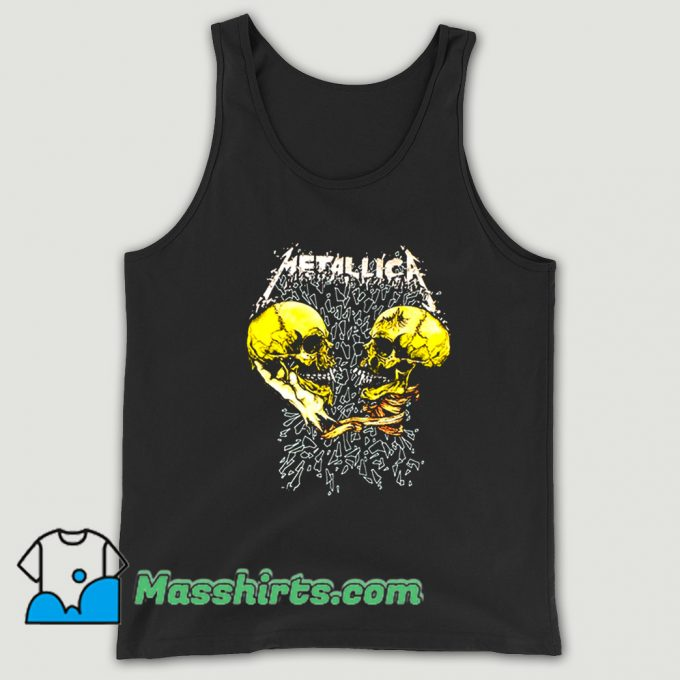 Cool Rock Metallica Sad And True Tank Top
