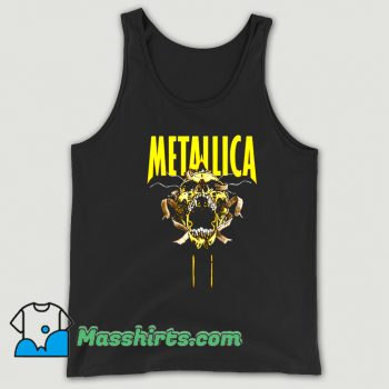 Vintage Metallica Skull Cry Rock Tank Top