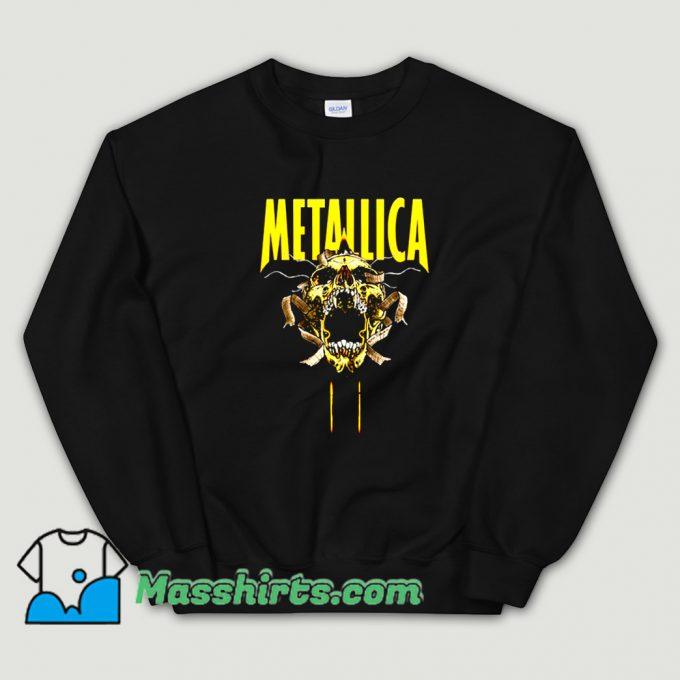 Best Metallica Skull Cry Rock Sweatshirt