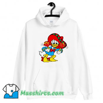 Mexican Donald Duck Classic Hoodie Streetwear