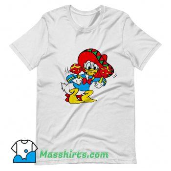 Mexican Donald Duck Vintage T Shirt Design