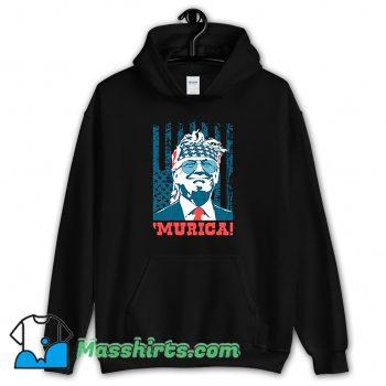 Murica 4Th Of July American Party Hoodie Streetwear
