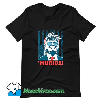 Murica 4Th Of July American Party T Shirt Design