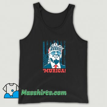 Cheap Murica 4Th Of July American Party Tank Top
