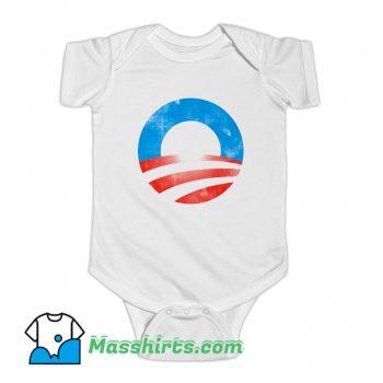 Awesome Obama Logo President Baby Onesie