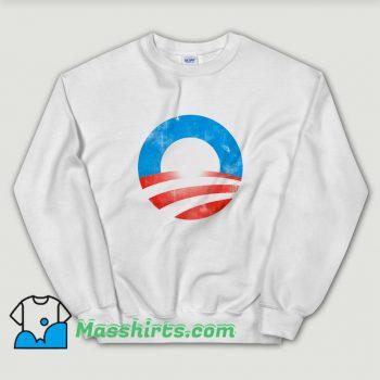 Cheap Obama Logo President Sweatshirt