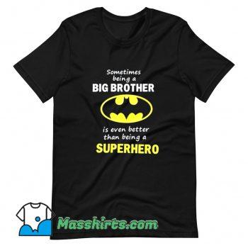 Original Big Brother Batman T Shirt Design