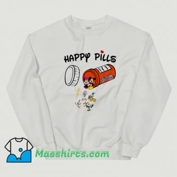 Original Happy Pills Disney Donald Duck Sweatshirt