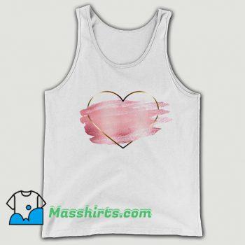 Original Heart Flower Love Valentine Day Tank Top