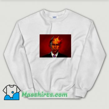 President Barack Obama King Sweatshirt