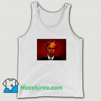 President Barack Obama King Tank Top