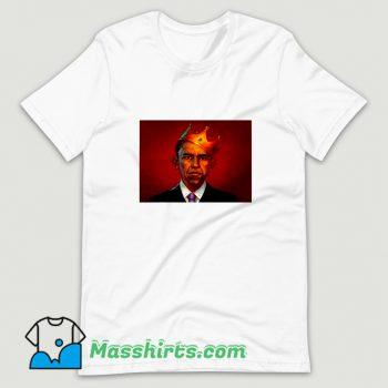 President Barack Obama King T Shirt Design