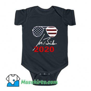 President Joe Biden Glasses USA 2020 Baby Onesie