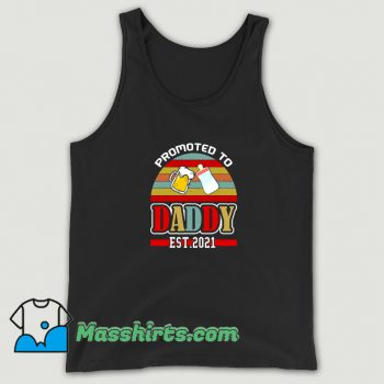 Promoted To Daddy 2021 Tank Top