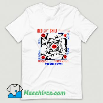 Funny Red Hot Chili Peppers T Shirt Design