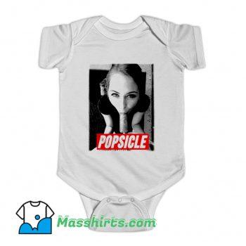 Cute Riley Reid Pornostar Popsicle Baby Onesie