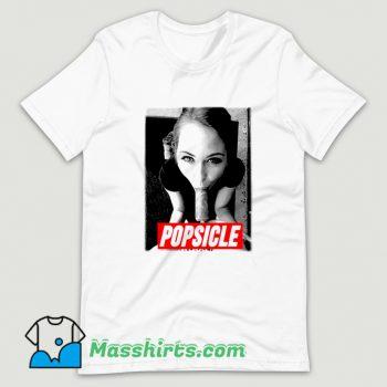 Riley Reid Pornostar Popsicle Vintage T Shirt Design