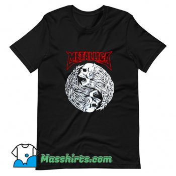 Awesome Rock Metallica Music Deth T Shirt Design