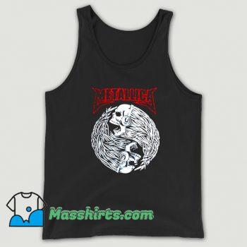 Rock Metallica Music Death Cute Tank Top