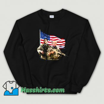 Ronald Donald Trump USA Flag Sweatshirt