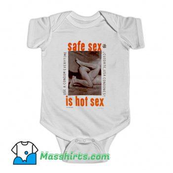 Safe Sex Is Hot Sex Baby Onesie On Sale