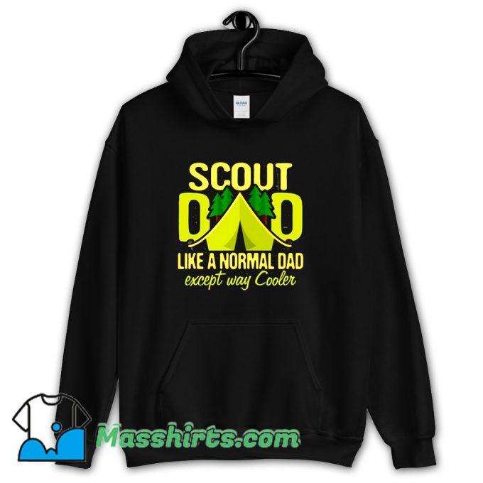 Scout Dad Cub Leader Boy Camping Hoodie Streetwear