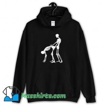 Vintage Skeleton Karma Sutra Sex Hoodie Streetwear