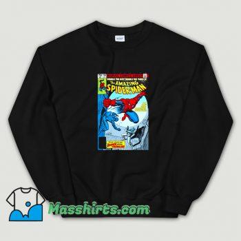Spider-Man Comic Book Cover Sweatshirt