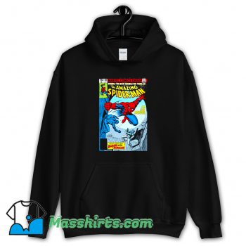 Best Spider-Man Comic Book Cover Hoodie Streetwear