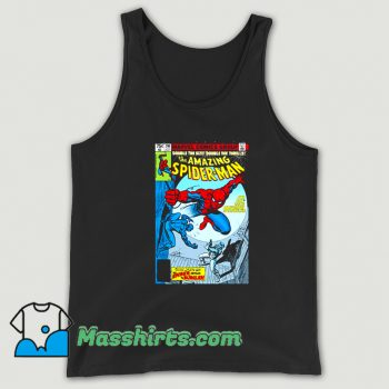 Original Spider-Man Comic Book Cover Tank Top