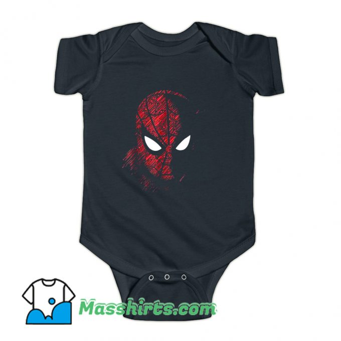 Funny Spider-Man Far From Home Baby Onesie