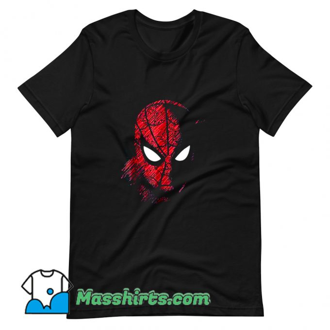 Vintage Spider-Man Far From Home T Shirt Design