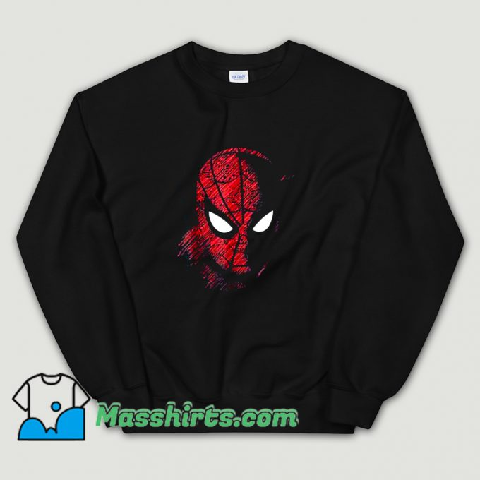 Cartoon Spider-Man Far From Home Sweatshirt