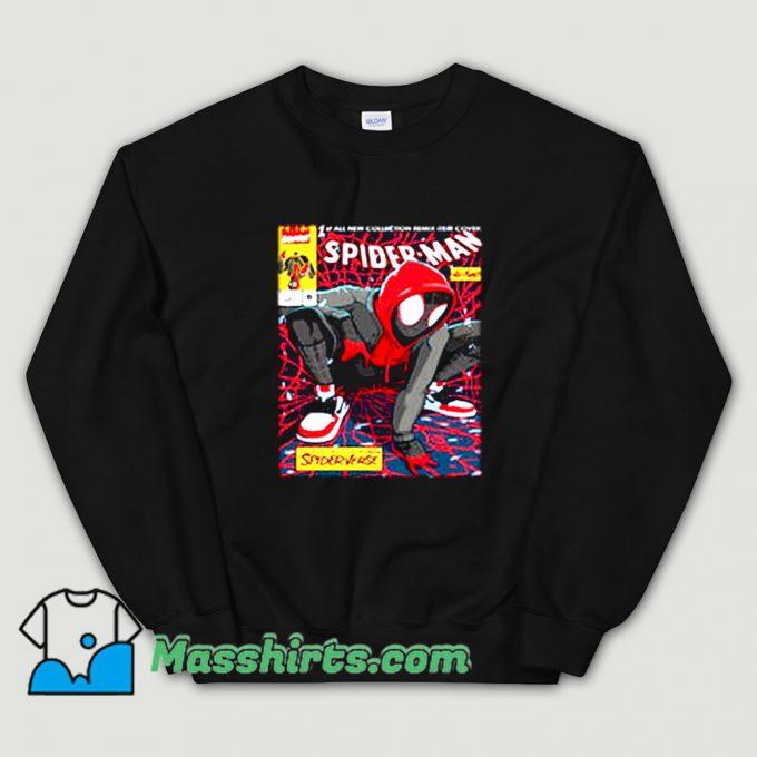 Spider-Man Miles Morales Sweatshirt On Sale