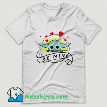 Star Wars The Mandalorian The Child Be Mine T Shirt Design
