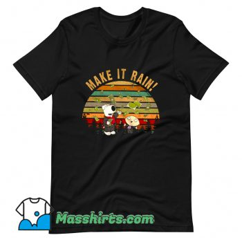 Cheap Stewie Griffin Brian Griffin Make It Rain T Shirt Design
