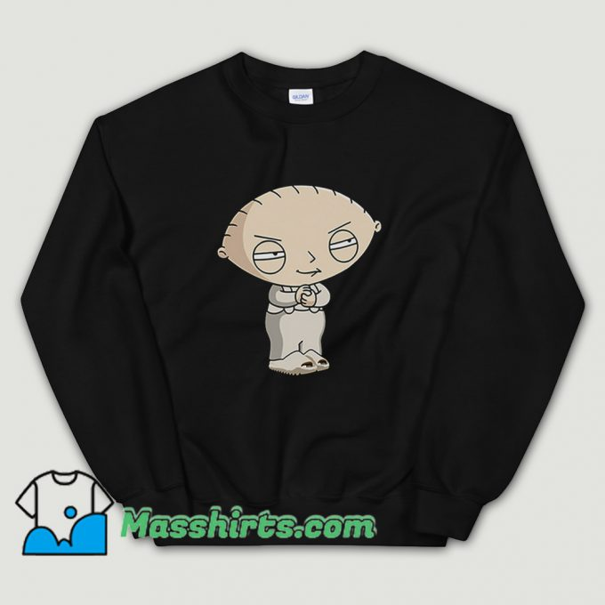 Vintage Stewie Griffin Family Guy Character Sweatshirt