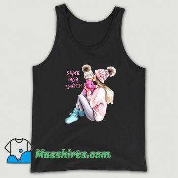 Super Mom Girl Mom Tank Top On Sale