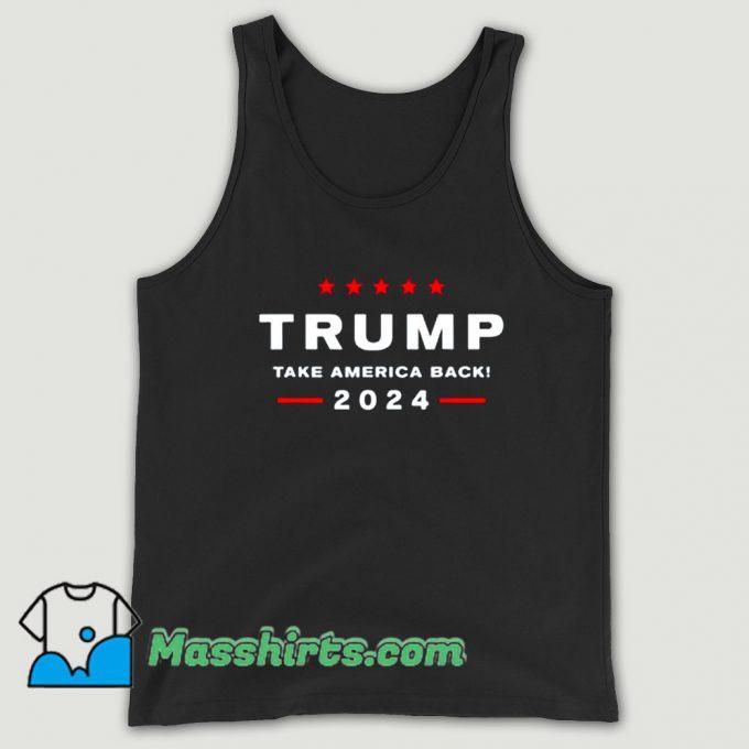 Take America Back 2024 Tank Top