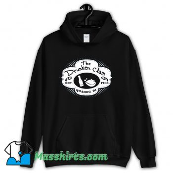 The Drunken Clam Est 1704 Hoodie Streetwear On Sale