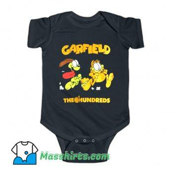 The Hundreds X Garfield Chase Baby Onesie