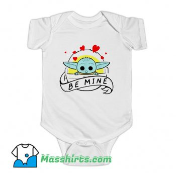 The Mandalorian The Child Be Mine Baby Onesie