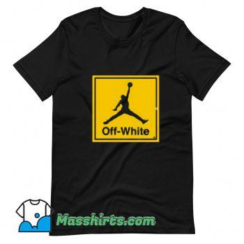 The Off White Air Jordan T Shirt Design
