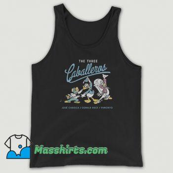 The Three Caballeros Donald Duck Cute Tank Top