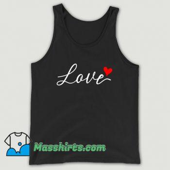 Valentine Day Love Heart Tank Top