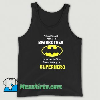 Vintage Big Brother Batman Tank Top