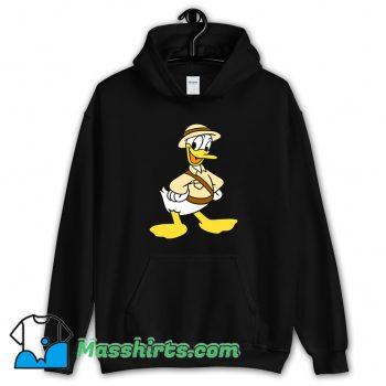 Vintage Safari Donald Duck Hoodie Streetwear